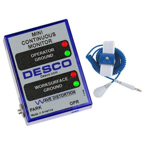 Desco 19242 – Continuous Mini Monitor