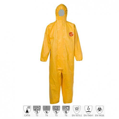 Quần áo chống hóa chất Dupont Tychem 2000