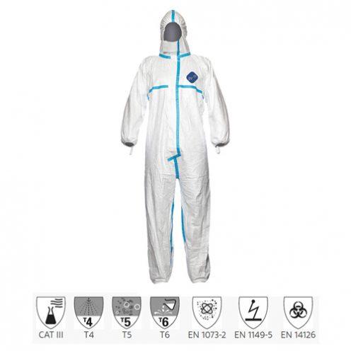 Quần áo chống hóa chất Dupont Tyvek 600 Plus